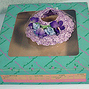 MIB Madame Alexander Cissette Spring Hat, 1950's!