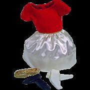 Mattel Skipper Outfit, Silk 'N Fancy, 1964, Complete