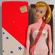 Miss Teenager Fashion Doll Clone, MIB, 1960