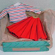 Madame Alexander Elise Sweater and Skirt Set, MIB, 1950's
