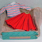 Madame Alexander Elise Sweater and Skirt Set, MIB, 1950's