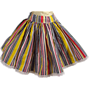 Vintage Tagged Mary Hoyer Circle Skirt, 1950's