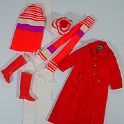 Vintage Mattel Skipper Outfit, Long'n Short Of It, 1971, Complete!