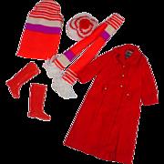 Vintage Mattel Skipper Outfit, Long'n Short Of It, 1971, Complete!