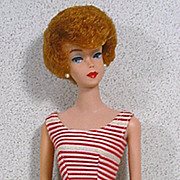 Mattel Barbie Titian Bubble-Cut, 1961, Beautiful!