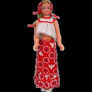 Vintage Mattel Growing Up Skipper Doll in Best Buy Outfit, 1975