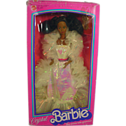 NRFB Mattel Afro American Crystal Barbie, 1983