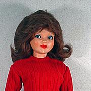 "Vintage  25"" Ottolini Italian Fashion Doll, 1960's, Rare!"
