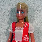 Vintage Sun Lovin' Malibu Skipper Doll, Mattel, 1978