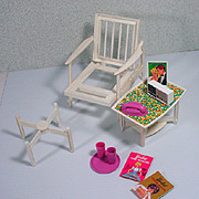 Vintage Barbie Mattel Go Together Furniture Set, 1964