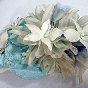 Vintage Madame Alexander Cissy Size Flower Hat