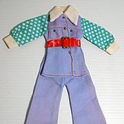 "Vintage Maxi Mod 11 1/2"" Fashion Doll Outfit, 1970's, M&S Shillman"