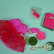 Vintage Mattel Barbie Outfit, Petti-Pinks, 1969