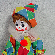 "Madame Alexander 8"" Clown, 1990, with Wrist Tag"