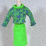 Vintage Mattel Francie Outfit, Gad-Abouts, Complete, 1966