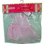 Mint in the Original Package Pink Nylon Slip and Panties, M.S. Shillman, 1950's