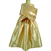 Vintage Madame Alexander Elise Size Strapless Evening Gown and Stole, 1950's