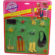 Vintage Mattel Barbie NRFP Shoe and Bag Pack, 1982