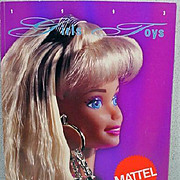 Mattel Salesman Catalog, 1993, Barbie Cover, Girls Toys