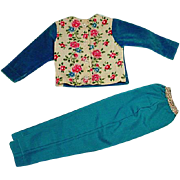 Vintage Madame Alexander Cissy Pants Set,  Rare Variation 1956