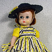 Madame Alexander Wendy Loves School Dresses Doll from 1957