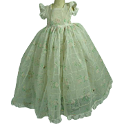 Vintage Madame Alexander Elise Gown, 1950's