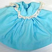 Vintage Madame Alexander Little Genius Blue Dress, 1950's