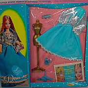 NRFB Topper Dawn Outfit, Bluebelle, 1969