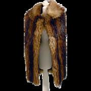 Barbie Size Real Mink Fur Cape, 1960's