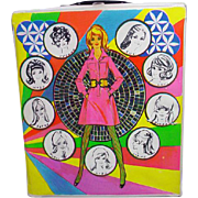 Mod Clone Fashon Doll Case, 1960's
