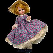"Vintage 8"" Sandra Sue Doll by Richwood Toys, 1956"