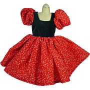"Lovely 18"" Size Fashion Doll Red Party Dress"
