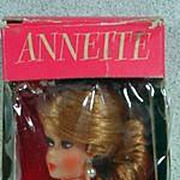 NRFB Eegee Annette Fashion Doll, Clone, 1960's