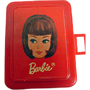 Mattel Miniature Barbie Doll Case, for Tutti's Let's Play Barbie, 1967