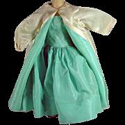 Madame Alexander Cissy Taffeta Dress and Coat, 1956 - Red Tag Sale Item