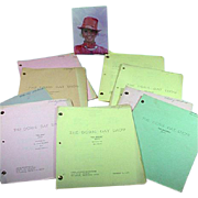 Original Doris Day TV Scripts from Her Series and Photo, 1968 & '69 - Red Tag Sale Item