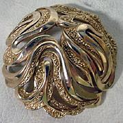 "Vintage Trifari ""Gold Tone"" Brooch, 1960's"