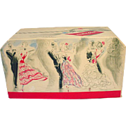 1940's Presentation Box for Mais Oui Perfume by Bourjois