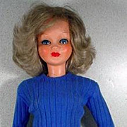"Vintage Ottolini Sonia 25"" Fashion Doll, 1950's-60's"