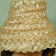 Vintage Madame Alexander Cissy Hat, 1950's Chic!!