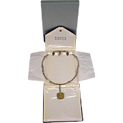 Modernistic Ilaria from Peru 925 Sterling Pendant Necklace from Barney's NY