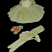 Vintage Madame Alexander Elise Ballerina Outfit, 1962