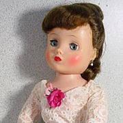Vintage 1950's Madame Alexander Elise Doll in Hostess Outfit