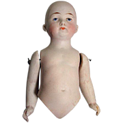 Antique Bisque Doll, As Is, For Parts