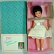 "Madame Alexander Cissette ""Cat on a Hot Tin Roof"" Liz Taylor 10"" Doll MIB"