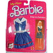 MOC Mattel My First Barbie Fashion, 1985