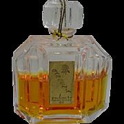 Vintage Commercial Perfume, Gardenia, Chex Bottle, 1950's