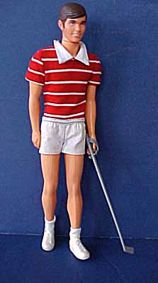 Mattel Free Moving Ken Doll From 1975 In Original Outfit