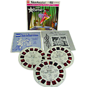 Vintage 1978 View Master SuperStar Barbie Set