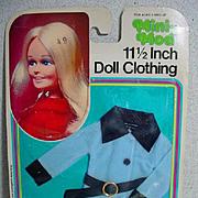 """NRFP Mini Mod 111/2"""" Doll Outfit, Shhillman, 1982"""